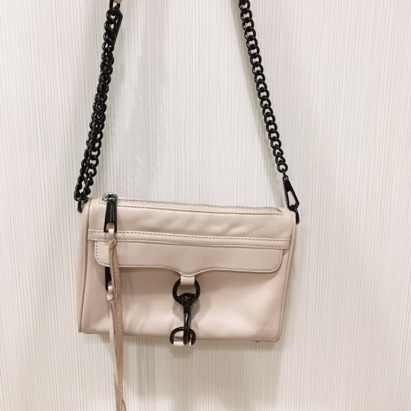 二手 Rebecca Minkoff latte Mini Mac crossbody