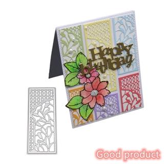 【有貨】 Cutting dies DIY切割蝕刻碳鋼刀模 Scrapbook立體花背景/ 請柬花邊/ 賀卡裝飾