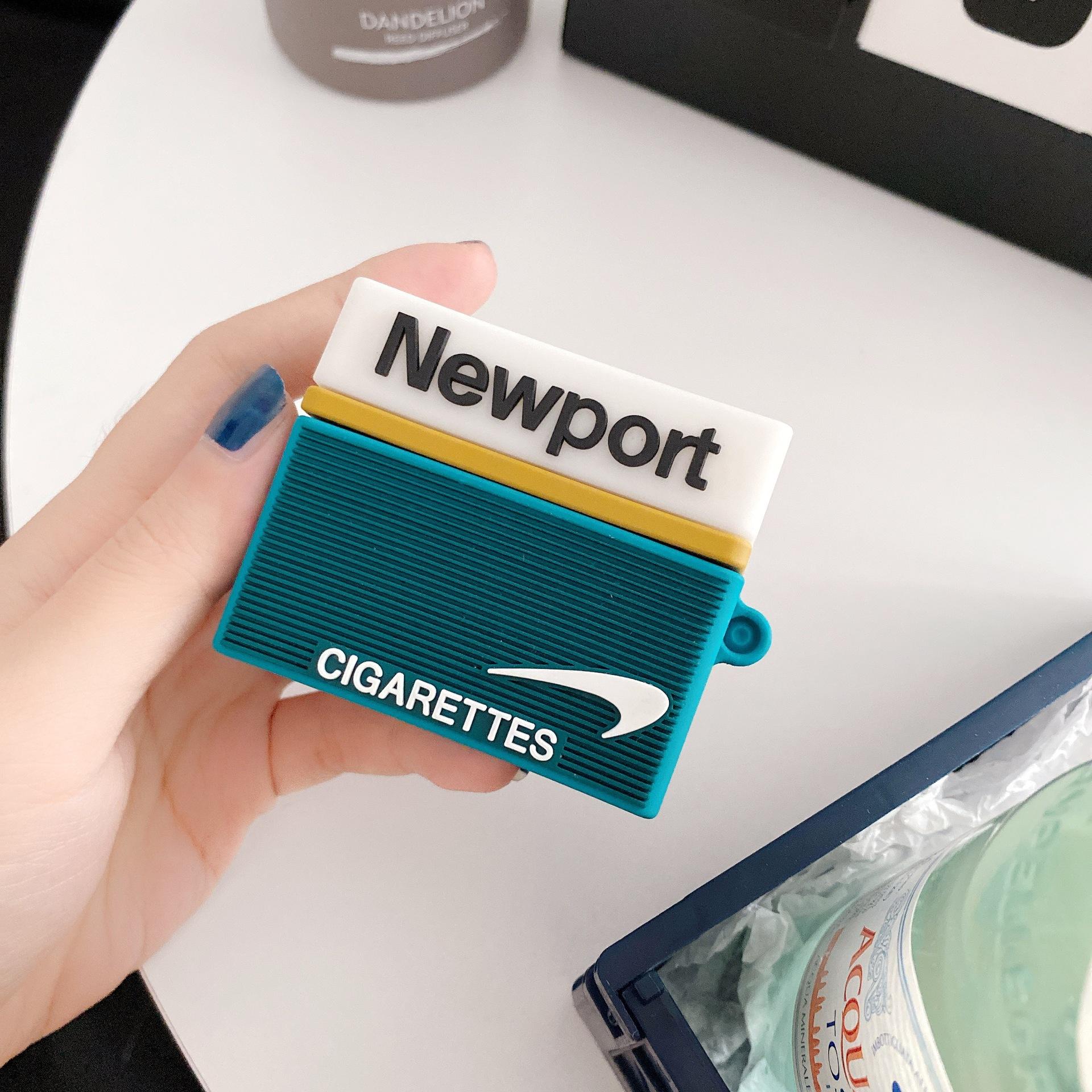惡搞創意煙盒AirPods Pro保護套 Airpods1/2 蘋果無線藍牙耳機殼