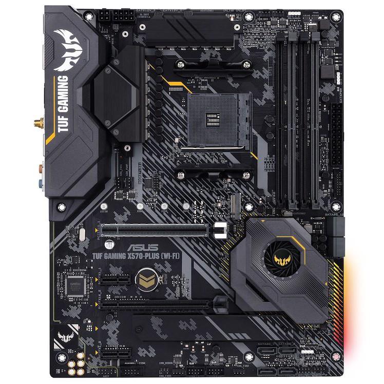 華碩 TUF GAMING X570-PLUS (WIFI) 註五年 + AMD R5 3600