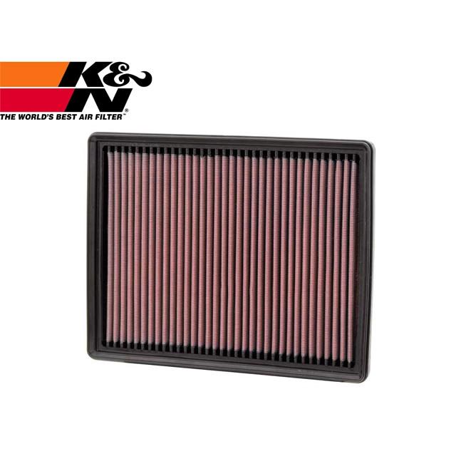 【APK改裝部品館】K&N 高流量空氣濾芯 33-2934 KIA CARENS 2006-2011