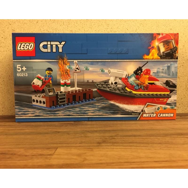 LEGO 60213 碼頭火災