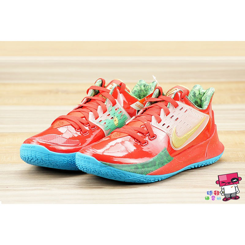球鞋補習班 NIKE KYRIE LOW 2 EP SPONGEBOB 蟹老闆 MR. KRABS CJ6953-600