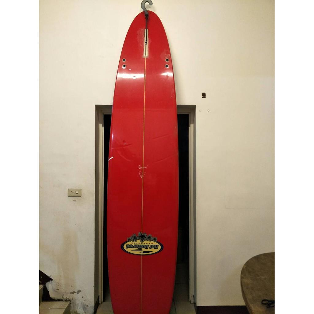 9尺的衝浪板 長版 中古 二手板 hot buttered 牌子