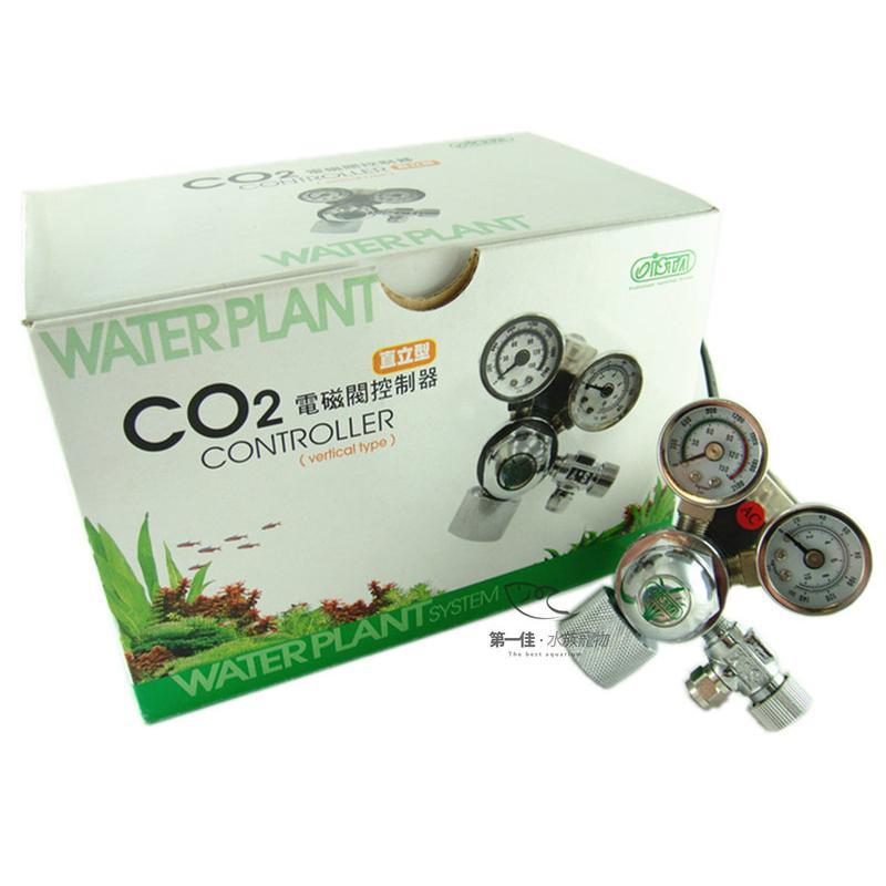 台灣伊士達ISTA CO2雙錶電磁閥控制器 [直立式][送計泡器+空氣管+止逆閥 ] 免運