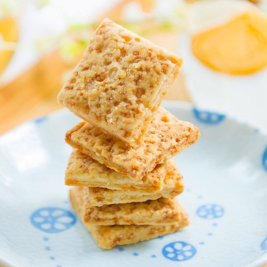 《裕芳食品》鹹蛋黃方塊酥(蛋素)