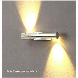 現代創意簡約調光壁燈2WLED 臥室客廳走廊室內陽台餐廳壁燈85V-265V