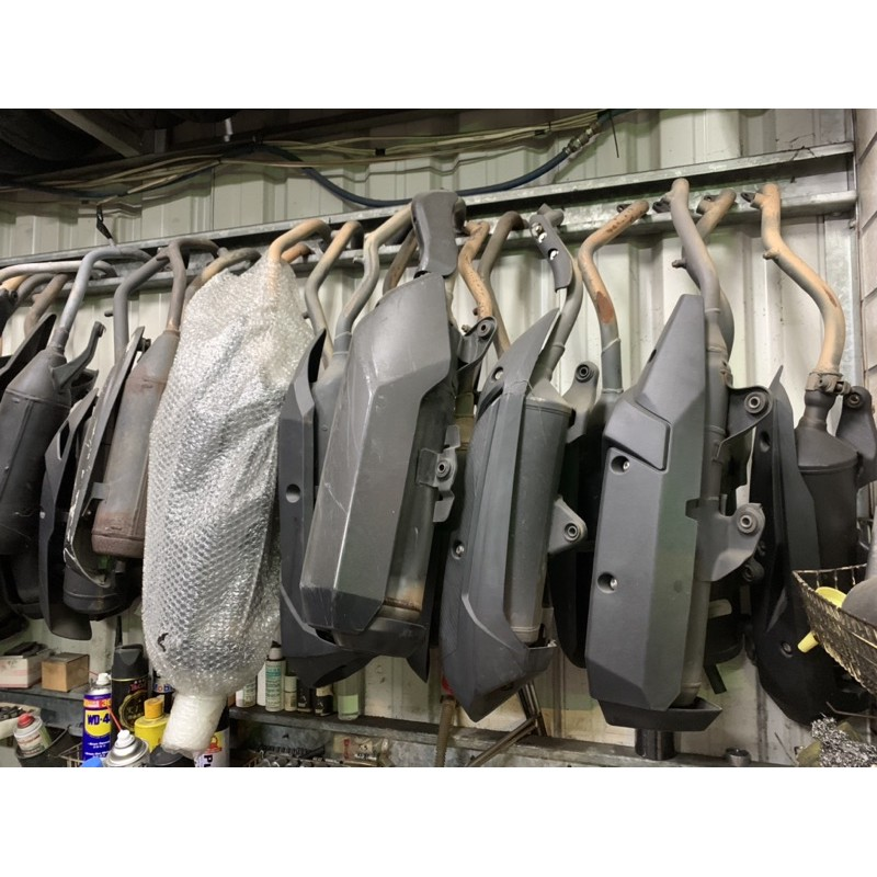 BWS 勁戰 VJR IRX JETS 雷霆S G6 RS 多款車系 二手排氣管 二手改裝管 二手原廠管 中古排氣管