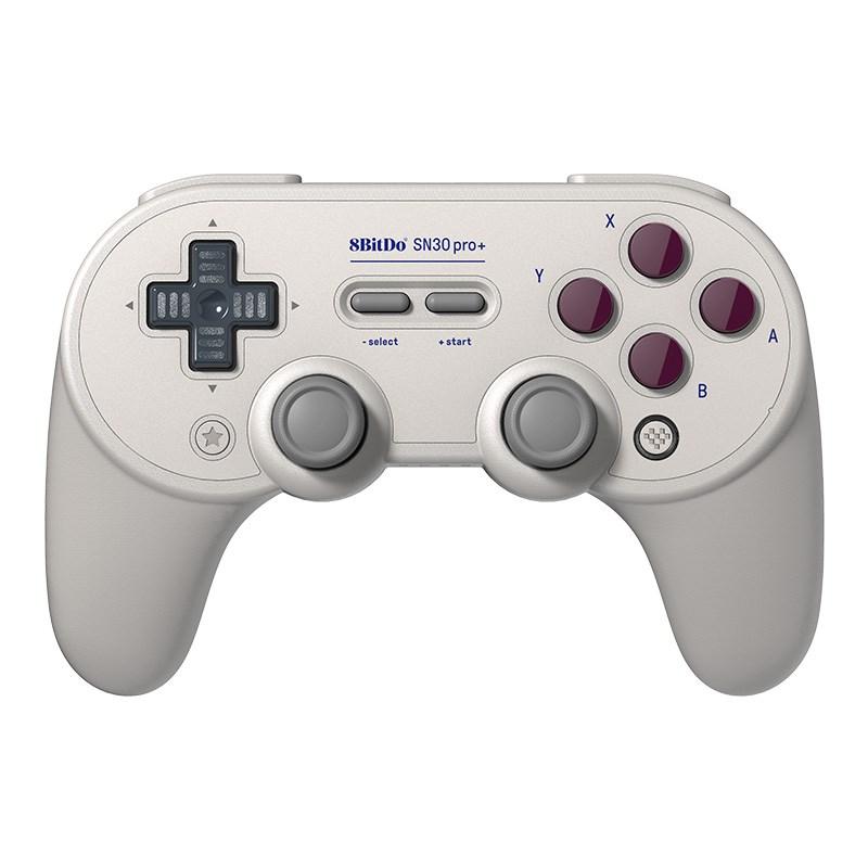 8bitdo八位堂SN30pro+遊戲連發手柄電腦Switch任天堂NS國產steam