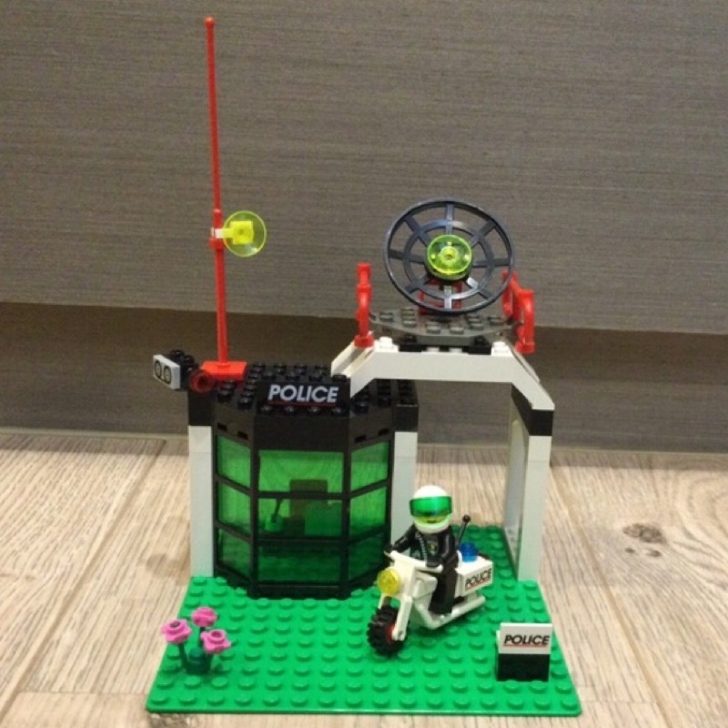 LEGO樂高CITY城市系列MOC 6464警察局Police Station
