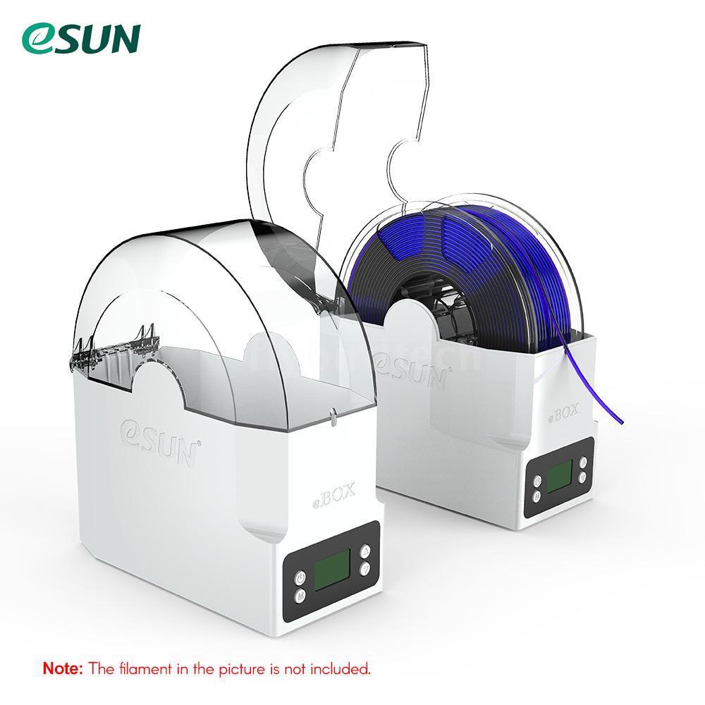 -FLY eSUN eBOX 3D打印細絲盒細絲存放支架,保持細絲干法測量細絲重量
