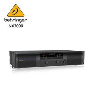 ★ BEHRINGER★ NX3000專業PA喇叭功率擴大機(超輕型3000瓦/ D類技術/ SmartSense揚聲器) 新北市