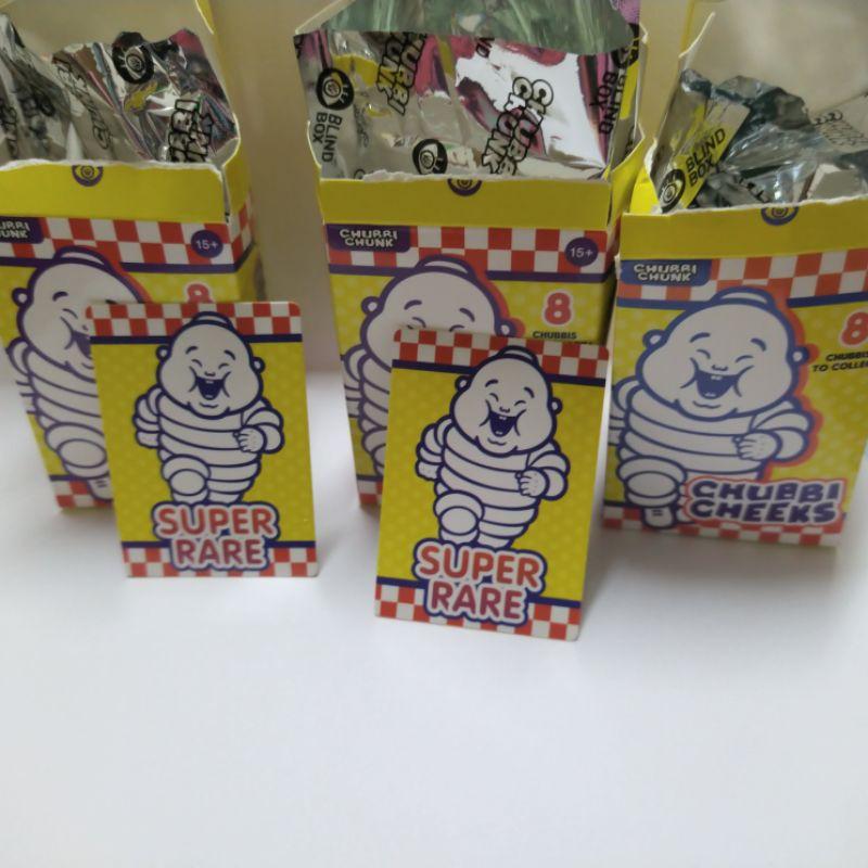 Unbox Chubbi Cheeks family 小胖子盒玩 盲盒