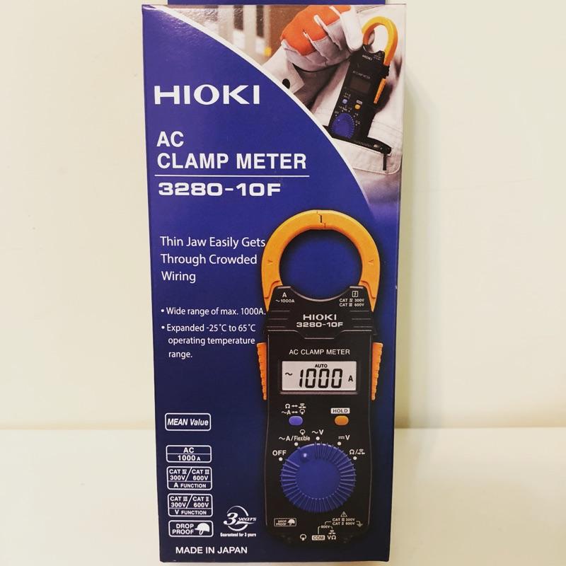 日本HIOKI 3280-10F/3280-20F AC電流勾錶