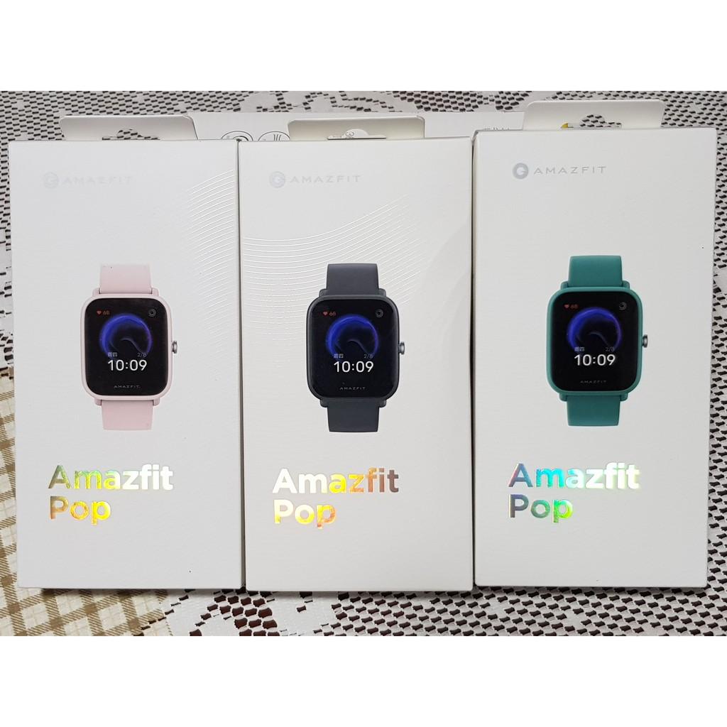 🔥台灣現貨🔥華米Amazfit Pop Pro智能手錶 NFC 小米智慧手錶 Bip U Pro 米動青春1s可參