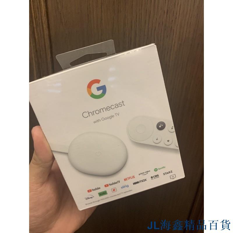 爆款  第四代 Google Chromecast with Google TV 另售官方正版乙太網路轉接頭