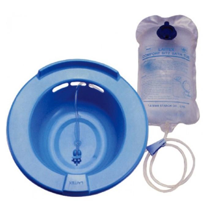 【海夫健康生活館】杏華 可調節水流量 坐浴泡盆 2000cc(LY0001)