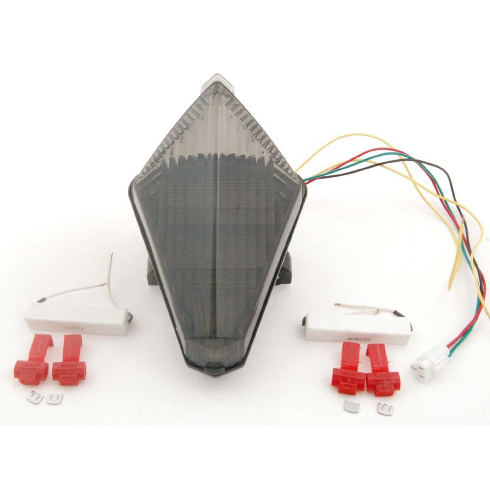 Yamaha 專用LED後尾燈(整合方向燈)適用YZF R1 2007-2008 TL371特價回饋!!《極限超快感》