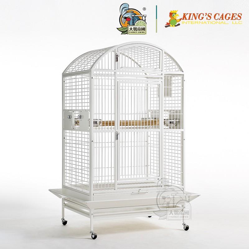 【大鸚帝國】美國金氏KING'S CAGES / 美式經典圓頂籠 / 鸚鵡鳥籠 / 高雄總店實品展示