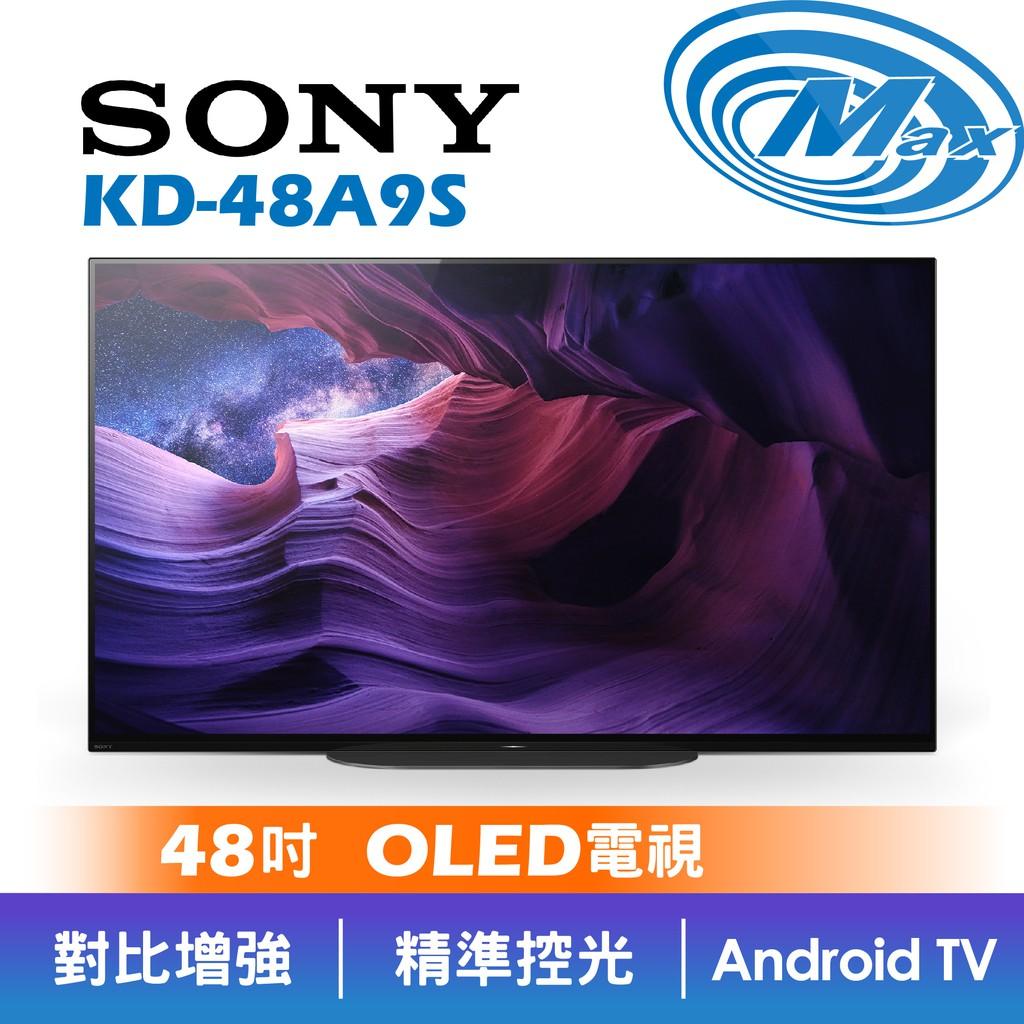 SONY 索尼 KD-48A9S | 48吋 4K OLED 電視 | 48A9S 【有現貨】現場實品展示中【麥士音響】