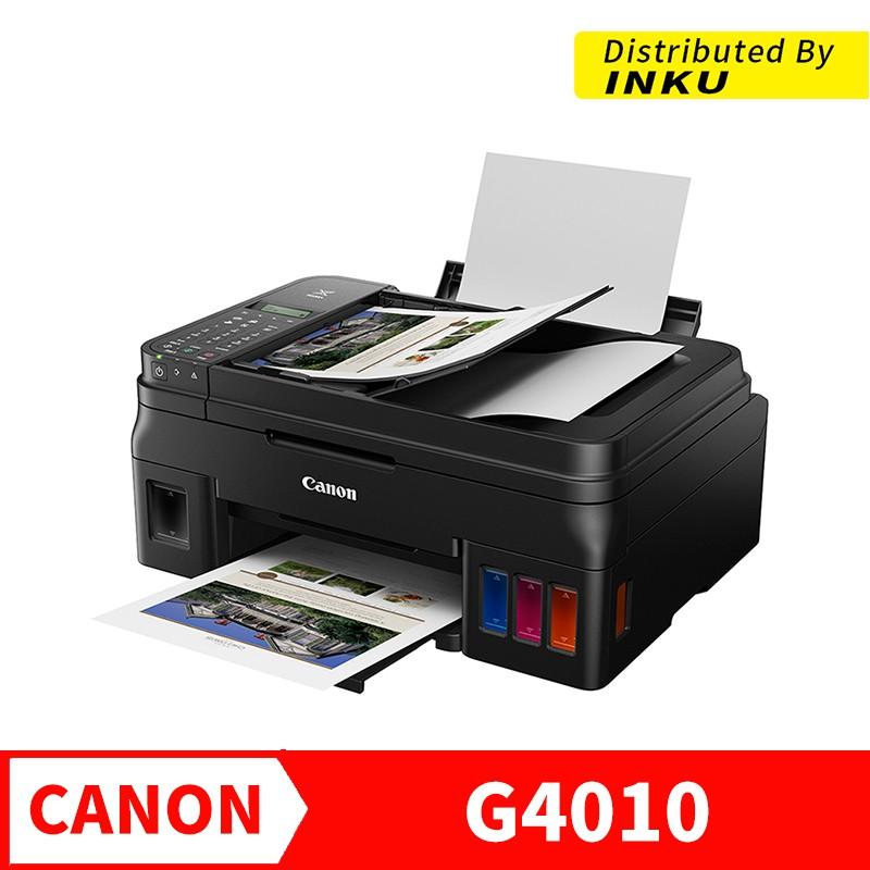 CANON PIXMA G4010 列印/傳真/影印/掃描/無線網路 印表機 大供墨 原廠 含稅 面交 刷卡[現貨]