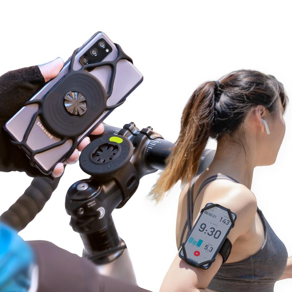 【BONE】Tie Connect 單車 / 跑步 綁接套組 運動 臂套 快拆 腳踏車 慢跑 支架 IPHONE