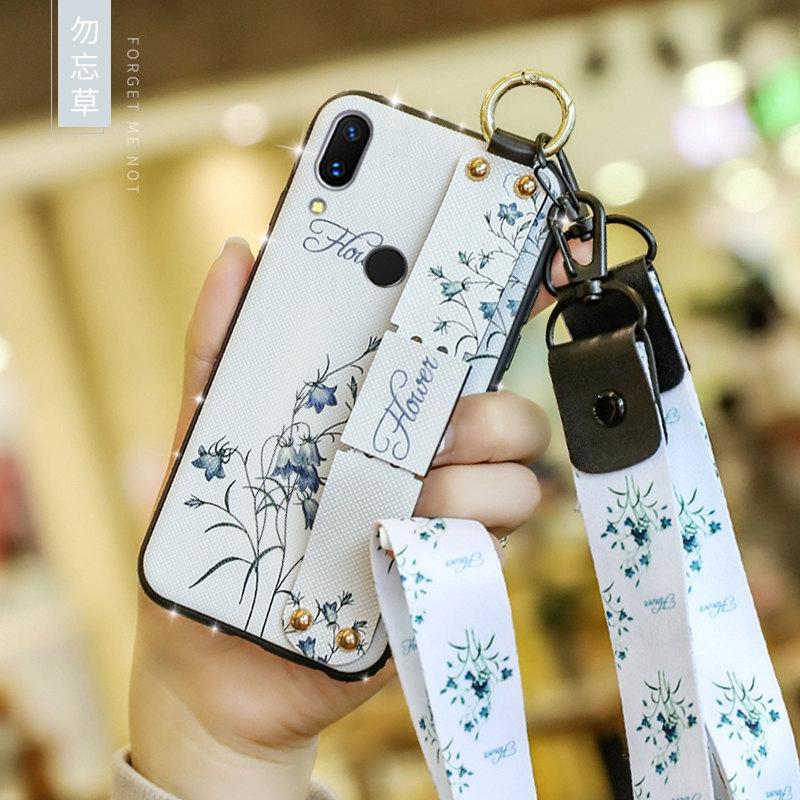 適用於 Samsung Galaxy A10S A20S A10 A20 A30 A40 A50 Case 鑽石腕帶布軟