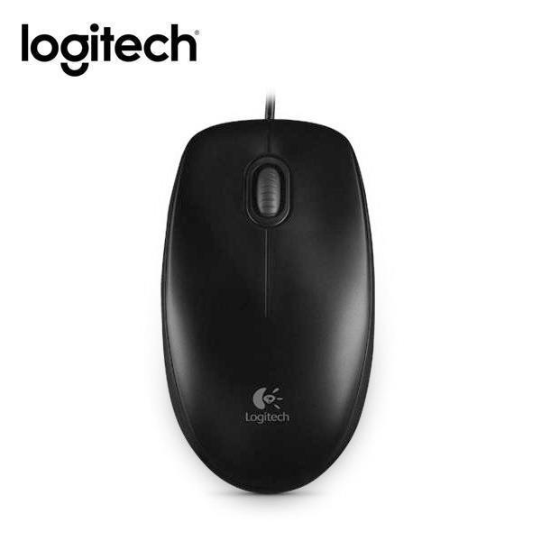【Logitech】羅技 B100 new 有線光學滑鼠 [富廉網]