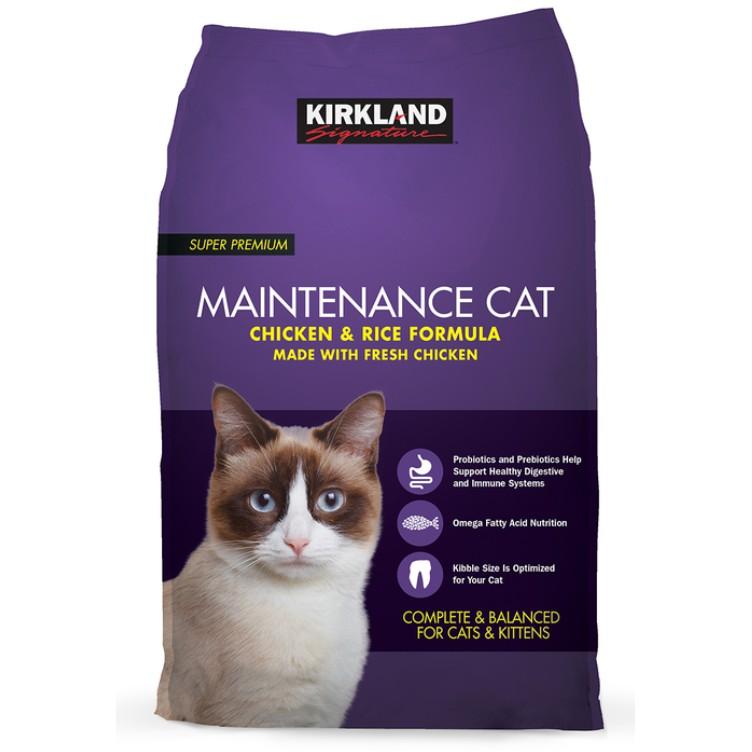 🐈含運刷卡價🐾 科克蘭雞肉&米配方 乾貓糧 貓飼料 紫包 🐾🐈好市多線上代購