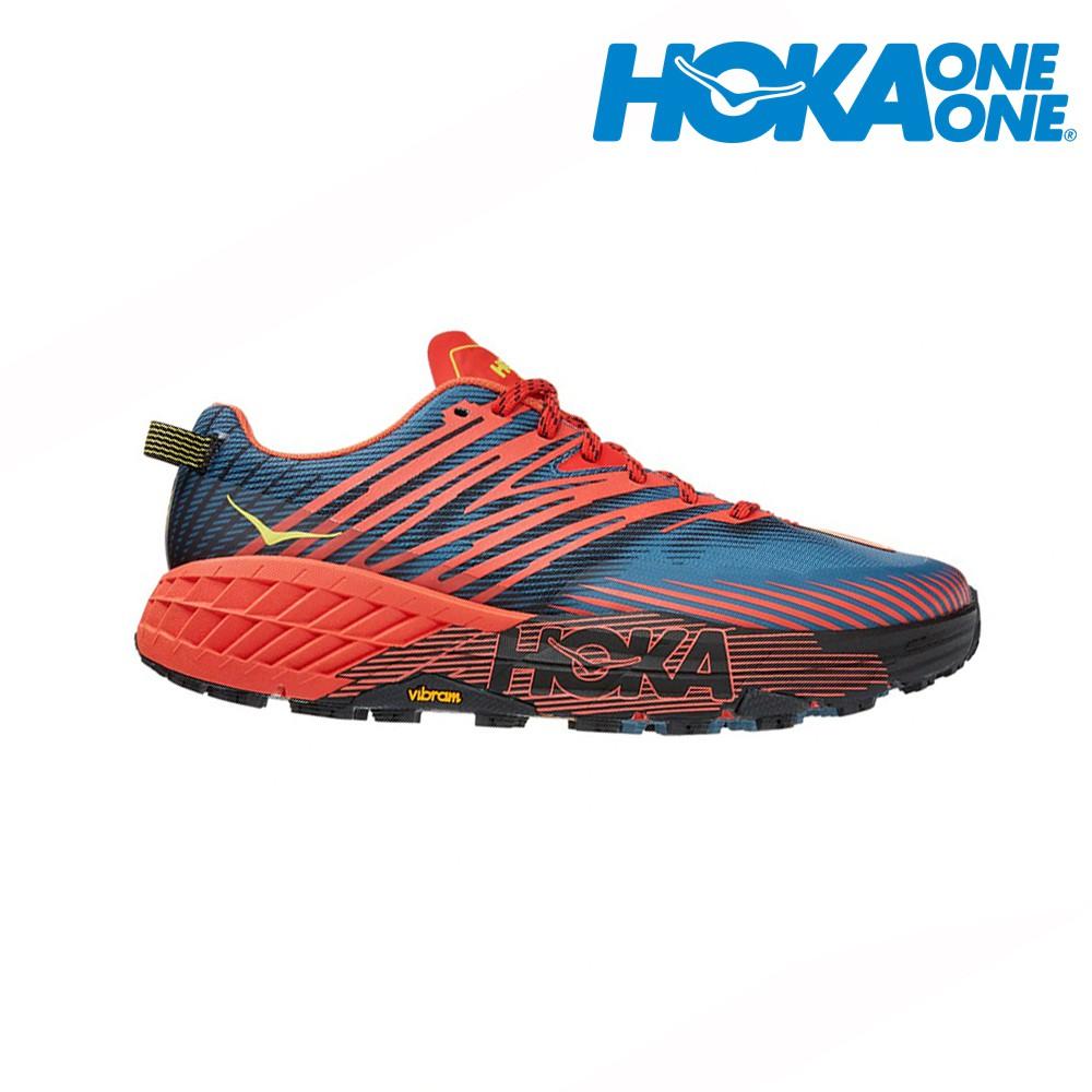HOKA  SPEEDGOAT 4 Wide 2E寬楦 男越野鞋 登山鞋 1106528FPBL 贈腿套 21SS