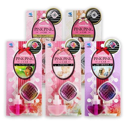 【限宅配】小林製藥 PINKPINK 車用芳香劑(溫和皂香) 5ml【BG Shop】效期:2019.06.01