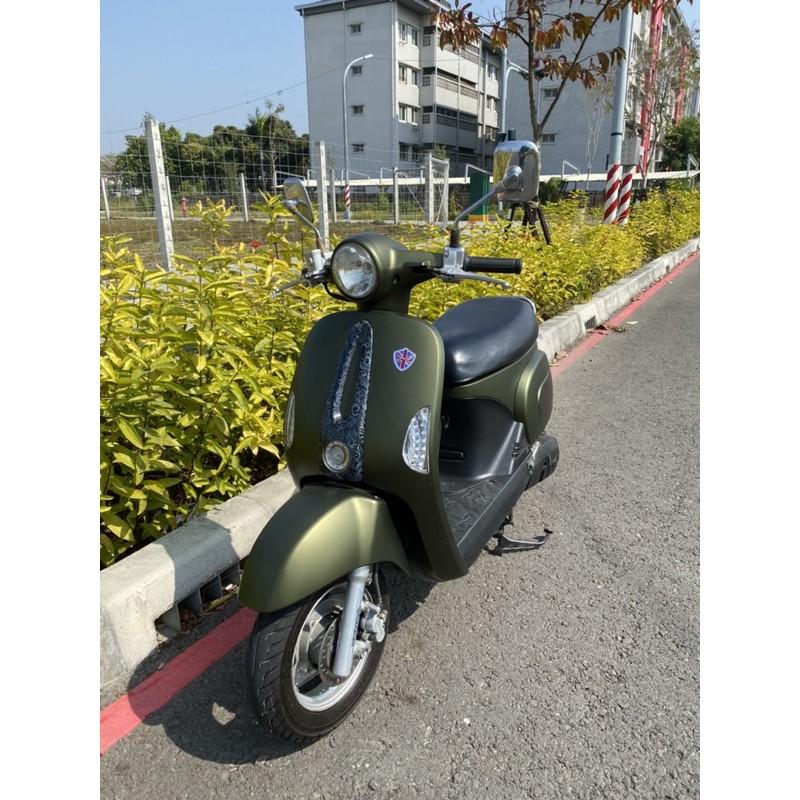 2012年 光陽 魅力 many 110cc 高雄 岡山 二手 中古機車 可協辦低利分期