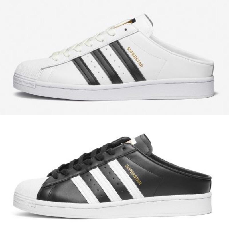 『HANSAN』買鞋送NIKE襪 ADIDAS SUPERSTAR MULE金標 穆勒鞋 懶人FX0528 FX0527