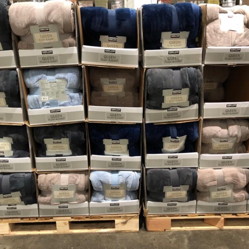 🛍好市多Costco代購 Kirkland 雙人舒適毯(厚毛毯)248*233cm