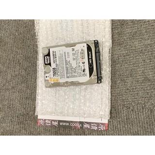 二手零件 Western Digital 黑標 2.5吋 750G 7200轉 硬碟 原廠保固內 功能正常 附購買發票