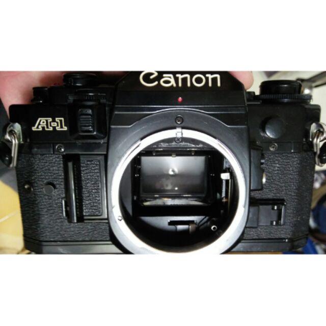 底片 單眼相機 Canon a1 經典 ,ae1