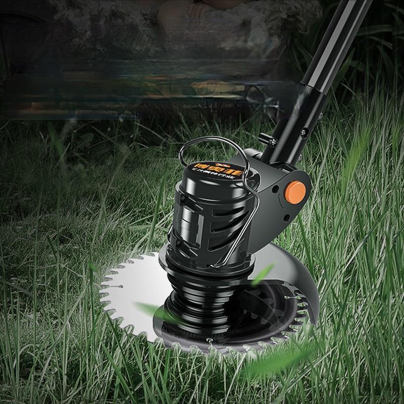 【無線無束縛】電動除草機 充電式無線割草機 鋰電池割草機 小型割草機 打草機除草機 修草機 電動割草 【汽車生活之家】