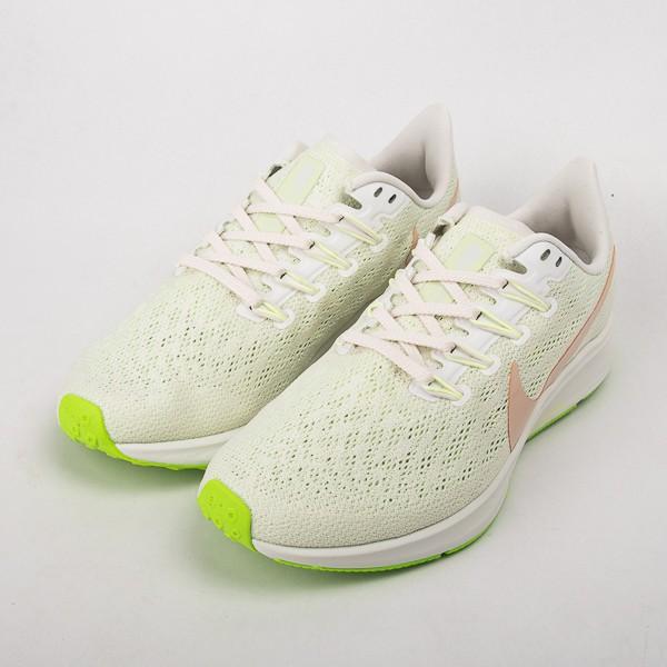 NIKE AIR ZOOM PEGASUS 36 女款慢跑鞋-白/綠 AQ2210-002 現貨