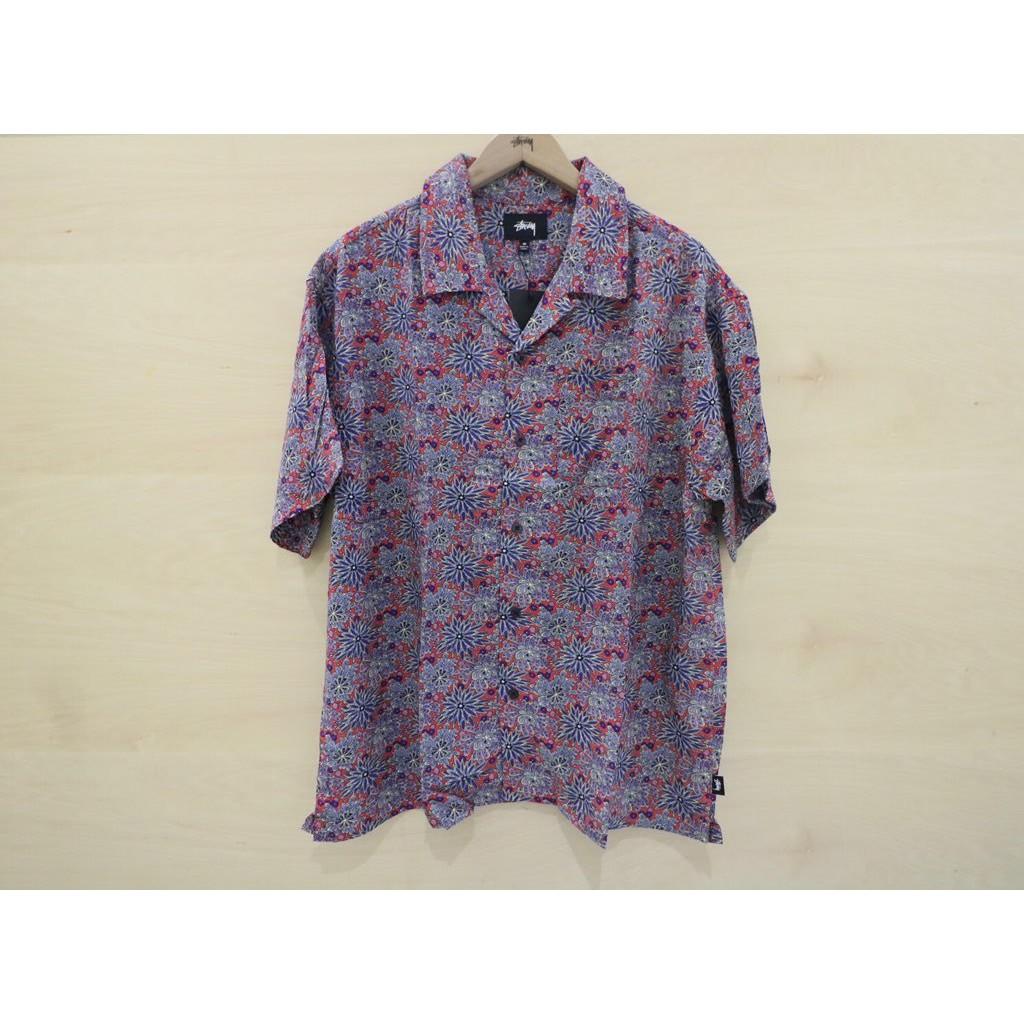 ☆ETW☆【一中店】STUSSY FLORAL PRINT SHIRT 花襯衫 襯衫 短袖 現貨