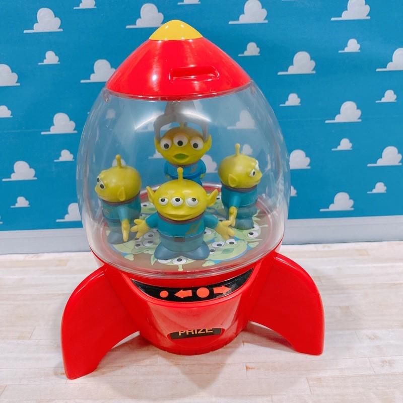 三眼怪 糖果罐 火箭 飛船 玩具總動員 迪士尼 皮克斯 絕版 糖果盒
