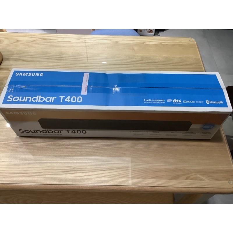 [全新 ]Samsung 三星 2.0聲道 藍芽 聲霸 soundbar T400 <可台南北區自取>