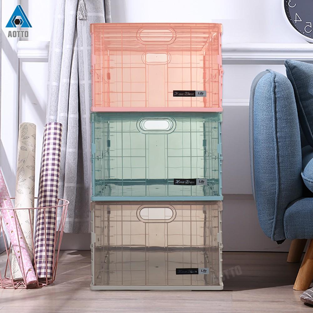 【AOTTO】摺疊收納箱/折疊箱 輕便秒收型 大款 (一入、兩入一組)