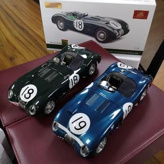 【klomg】CMC 1:18 捷豹C-Type Jaguar C-Type 1952  #19  18# 汽車模型