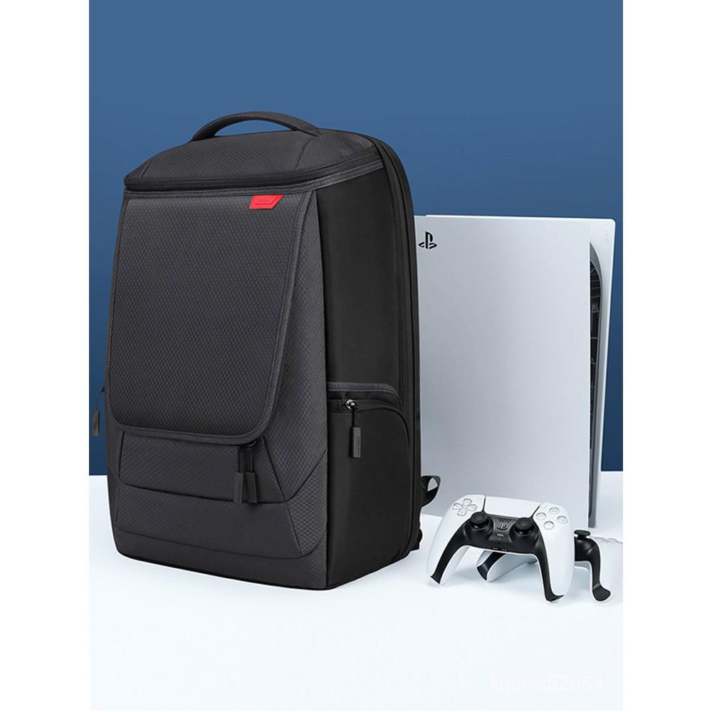 索尼PS5主機包PlayStation電視遊戲機大容量收納包微軟XBOX手柄VR配件整理slim遊戲機保護套PS4PRO