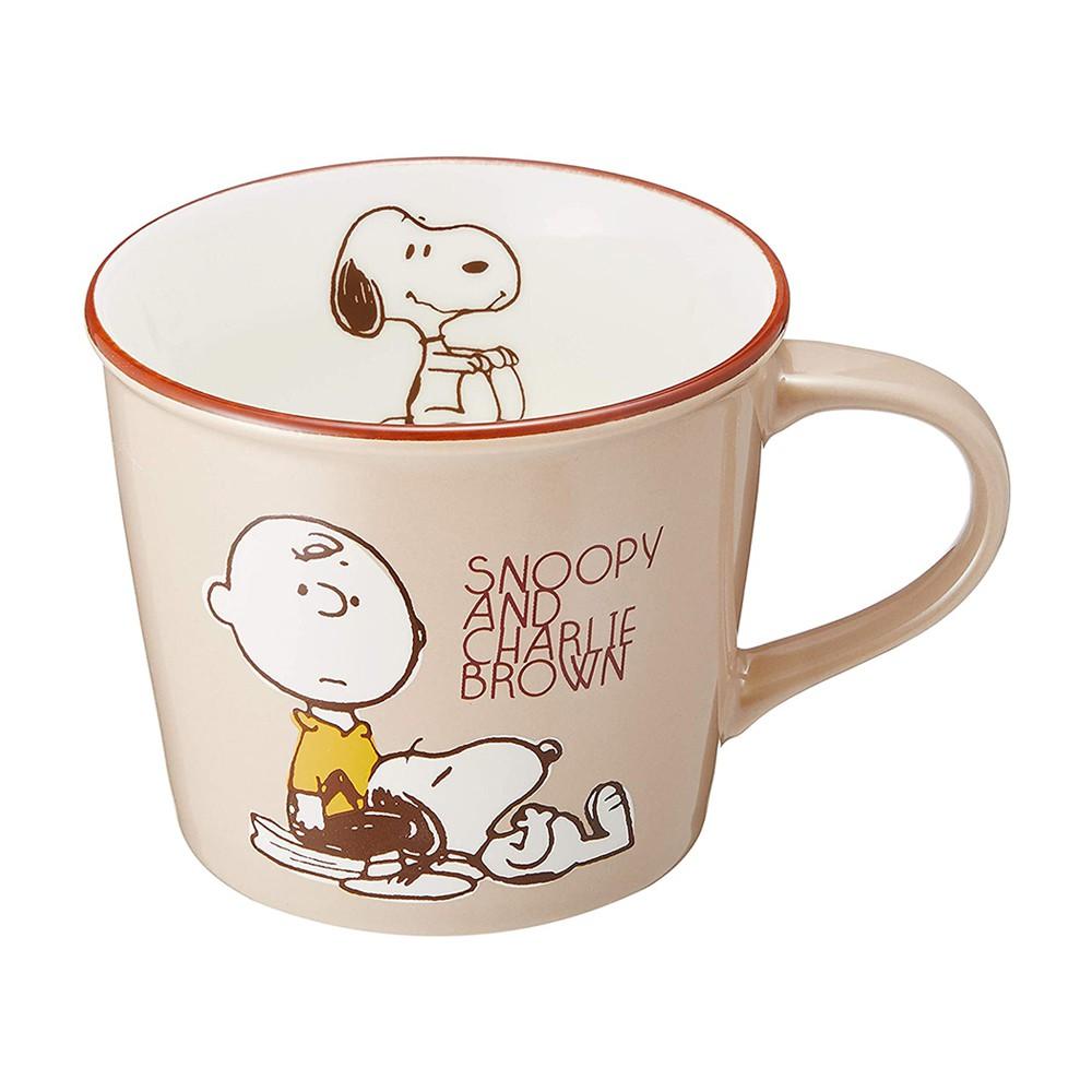 大西賢製販 繽紛馬克杯 300ml SNOOPY史努比 查理布朗