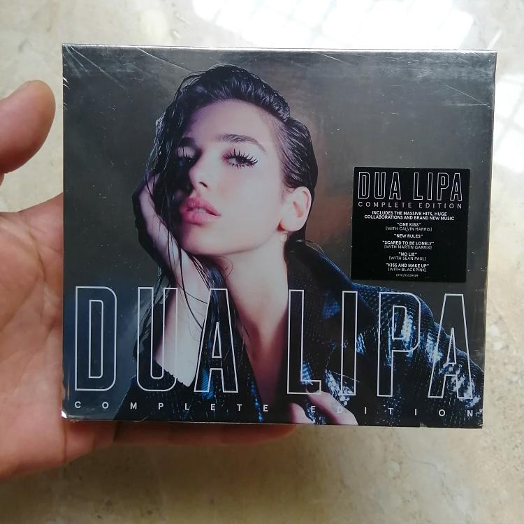 同名專輯杜阿利帕Dua Lipa 2CD