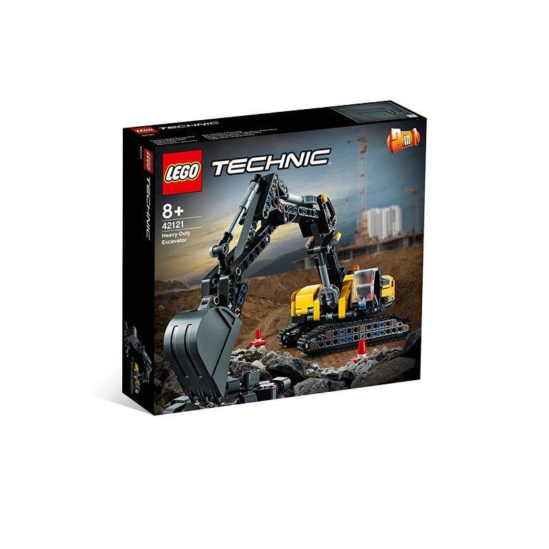 【🍥壹品洋倉💌】LEGO樂高 機械組系列 42121 重型挖掘機男孩益智拼插積木玩具模型