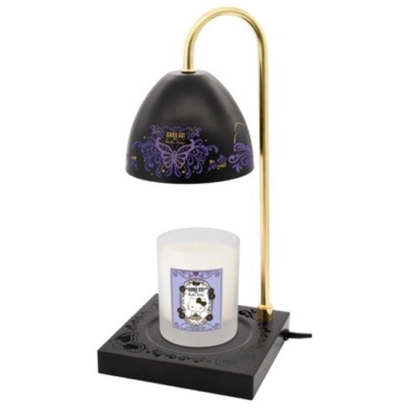 全新現貨✨7-11 ANNA SUI X Hello Kitty 暖燭燈附香氛蠟燭 香氛蠟燭檯燈 蠟燭 檯燈(神秘黑)