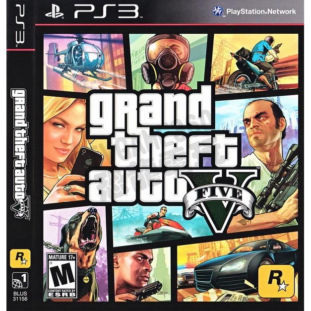 【二手遊戲】PS3 俠盜獵車手5 GRAND THEFT AUTO V 5 GTA5 中文版【台中恐龍電玩】