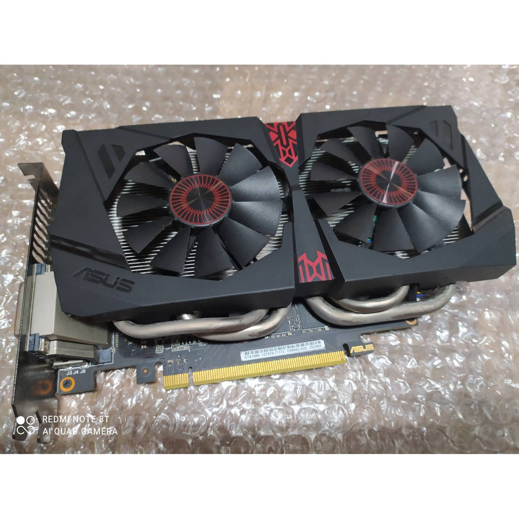 ★保固2022.12★華碩 ASUS GeForce GTX 1060 6G STRIX GAMING 貓頭鷹 顯示卡